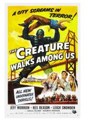 The Creature Walks Among Us movie poster [Jeff Morrow] (18 X 24) 1956