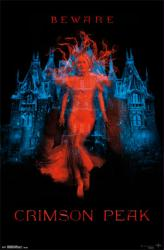 Crimson Peak movie poster [Mia Wasikowska] Guillermo del Toro (22x34)