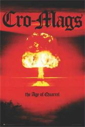 Cro-Mags poster: The Age of Quarrel (24x36) album cover art