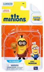 Minions: Cro-Minion poseable figure (Thinkway Toys)