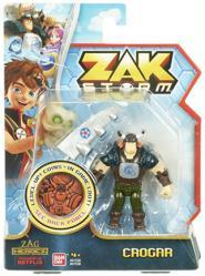 "Zak Storm: Crogar 3"" action figure (Bandai/2017)"