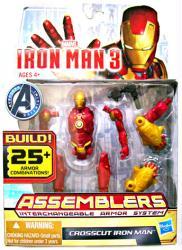 Iron Man 3 [Assemblers] Crosscut Iron Man action figure (Hasbro/2012)