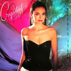 Crystal Gayle & McCarters poster: Nobody's Angel vintage LP/Album flat