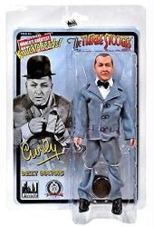 "The Three Stooges: Dizzy Doctors Curly 8"" retro-style action figure"
