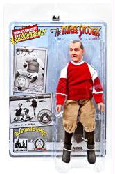 "Three Stooges: No Census No Feeling Curly 8"" retro-style action figure"