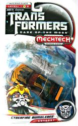 Transformers: Dark of the Moon [Mechtech] Cyberfire Bumblebee figure