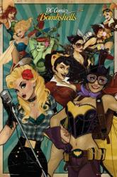 DC Comics poster: DC Comics Bombshells (24x36) New