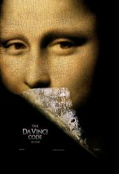The Da Vinci Code movie poster (2006) 27x40 advance NM