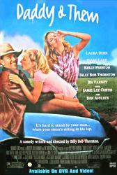 Daddy & Them movie poster /Billy Bob Thornton/Laura Dern/Kelly Preston