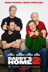 Daddy's Home 2 movie poster [Will Ferrell, Mark Wahlberg] 27x40 adv