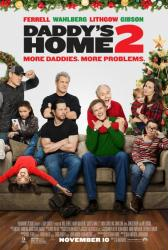 Daddy's Home 2 movie poster [Will Ferrell, Mark Wahlberg] 27x40