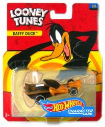 Hot Wheels Character Cars: Looney Tunes Daffy Duck die-cast vehicle