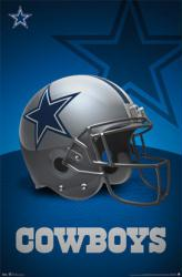 Dallas Cowboys poster: Helmet (NFL) 22 1/2'' X 34''