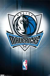 Dallas Mavericks logo poster (NBA) 22 1/2'' X 34''