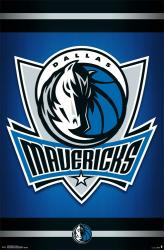 Dallas Mavericks poster: Logo (NBA) 22x34