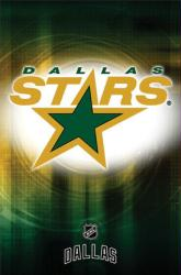 Dallas Stars logo poster (NHL) 22 1/2'' X 34''