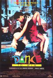 Dance to Win movie poster (1989) original 27x40