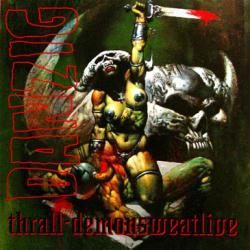 Danzig poster: Thrall-Demonsweatlive vintage EP/Album flat