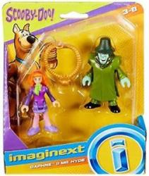 Imaginext Scooby-Doo: Daphne & Mr. Hyde figures (Fisher Price)