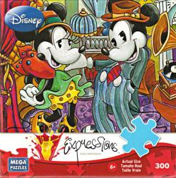 Mickey & Minnie Mouse jigsaw puzzle: Dapper Dandies [Disney] 300 piece