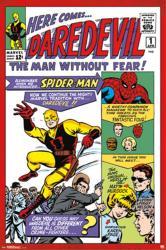 Daredevil poster: Issue 1 cover art (24x36) Marvel Comics
