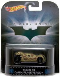 Hot Wheels Retro Entertainment: Dark Knight Tumbler Camouflage diecast