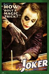The Dark Knight movie poster: Magic Trick [Heath Ledger/Joker] 24 X 36