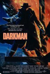 Darkman movie poster [a Sam Raimi film] original 27 X 40