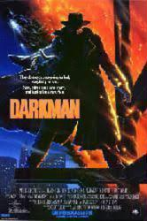Darkman movie poster [a Sam Raimi film] 27x40 video poster