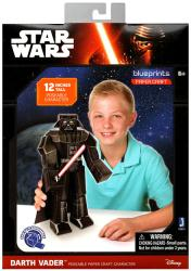 "Star Wars Blueprints: Darth Vader 12"" Poseable Paper Craft Character"