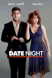 Date Night movie poster [Steve Carell, Tina Fey] original 27x40