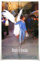 Date With An Angel movie poster [Michael E. Knight] original 27x41
