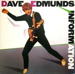 Dave Edmunds poster: Information vintage LP/Album flat