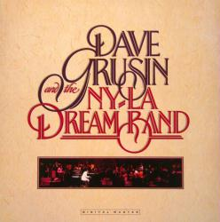 Dave Grusin and the NY-LA Dream Band poster: Vintage LP/album flat
