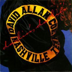 David Allan Coe poster: Darlin' Darlin' vintage LP/Album flat