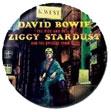 David Bowie pinback: Ziggy Stardust (1'' Button)