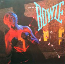 David Bowie poster: Let's Dance vintage LP/Album flat