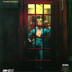 David Bowie poster: Ziggy Stardust vintage LP/Album flat