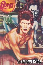 David Bowie poster: Diamond Dogs (24 X 36) New