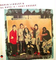 David Lindley & El Rayo-X poster: Very Greasy vintage LP/Album flat