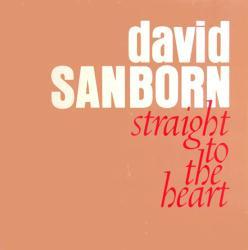David Sanborn poster: Straight To the Heart vintage LP/Album flat