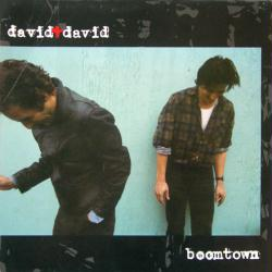 David + David poster: Boomtown vintage LP/Album flat