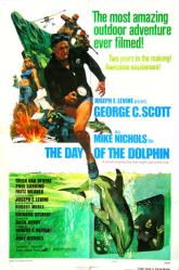 The Day of the Dolphin movie poster [George C. Scott] 27x41 original