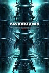 Daybreakers movie poster (2010) 27x40 one-sheet