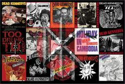 Dead Kennedys poster: Record Montage (36 X 24)