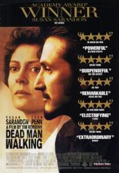Dead Man Walking movie poster [Susan Sarandon/Sean Penn] video version