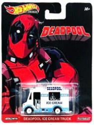 Hot Wheels Replica Entertainment: Deadpool Ice Cream Truck die-cast