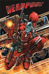 Deadpool poster: Attack (22x34) Marvel Comics