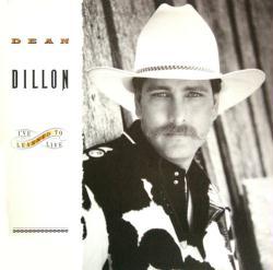 Dean Dillon poster: I've Learned To Live vintage LP/Album flat