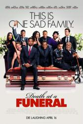 Death at a Funeral movie poster [Dinklage/Chris Rock/Zoe Saldana] 2010